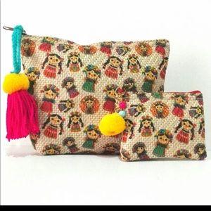 Handbags - Mexican colorfully bag purse Wallet tote